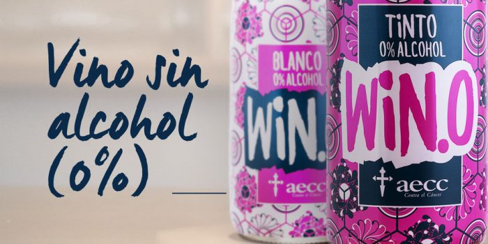 win vino sin alcohol