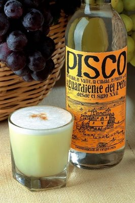 Botella de Pisco